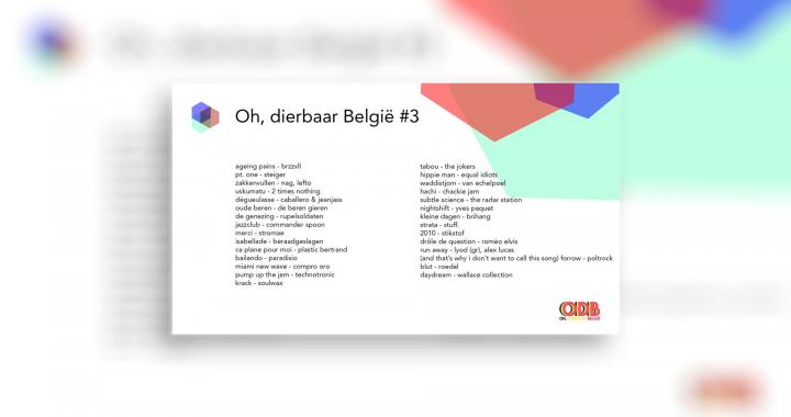 Oh, dierbaar België – Uitzending #3