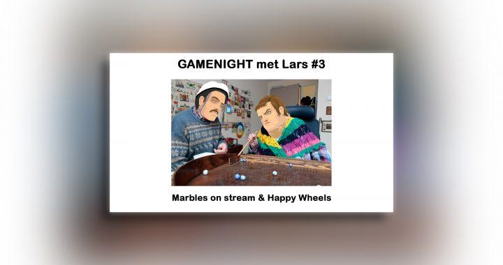GAMENIGHT #3 – Lars wielerd wat rond op Happy Wheels en laat mensen knikkeren