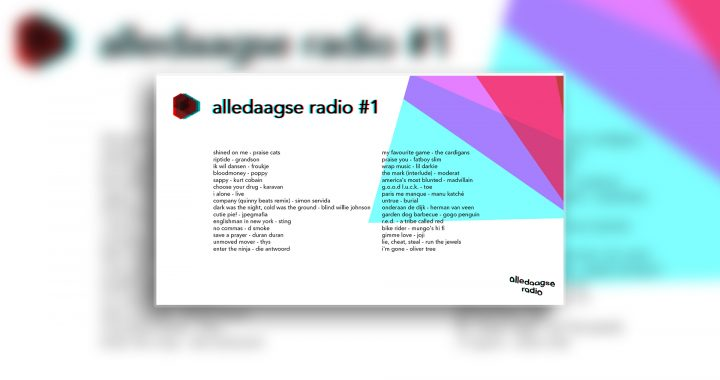 alledaagse radio – uitzending #1
