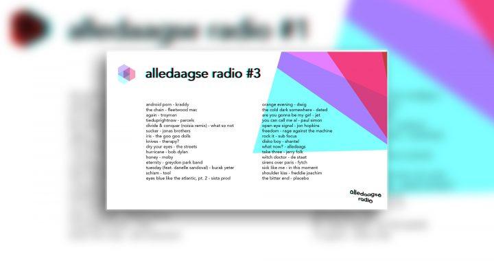 alledaagse radio – uitzending #3
