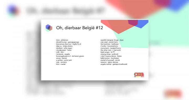 Oh, dierbaar België – Uitzending #12