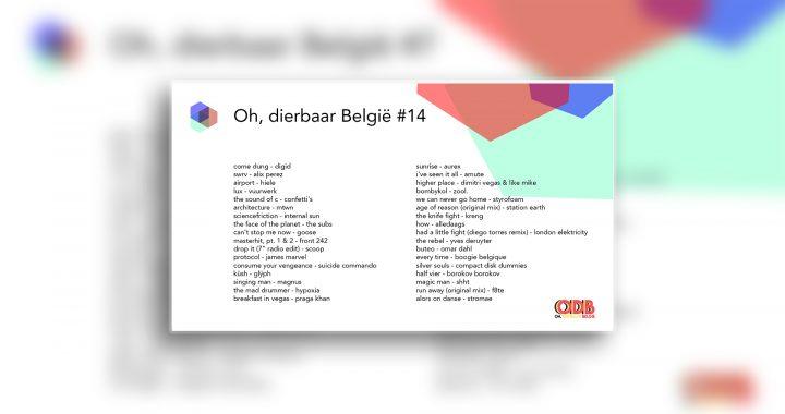 Oh, dierbaar België – Uitzending #14